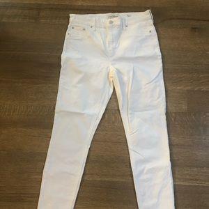 Bridgette Skinny Lucky Brand White Jeans